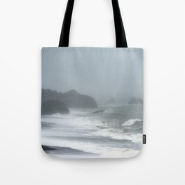 Pacific Northwest Beach Storm Tote Bag