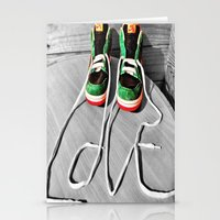 sneaker Stationery Cards featuring Sneaker Love by SefoG