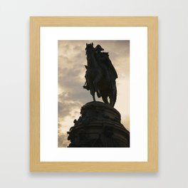 Wasington Monument Framed Art Print