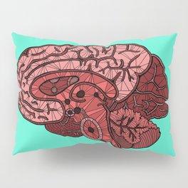 Brain Map Pillow Sham