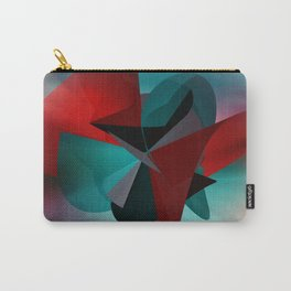 3 colors for a polynomial - landscape format Carry-All Pouch