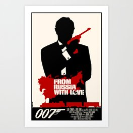 From Russia with Love Art Print