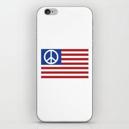 Peace in America iPhone Skin