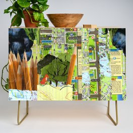 Little Red Fox Credenza