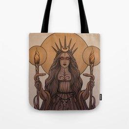 Goddess Hecate Tote Bag