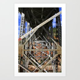 Beneath the Road--Arizona Art Print