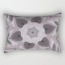Hearts (from arches in the Bom Jesus church in Old Goa (# 2)) Rectangular Pillow