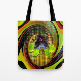 Abstract Perfection 7 Lilie Tote Bag