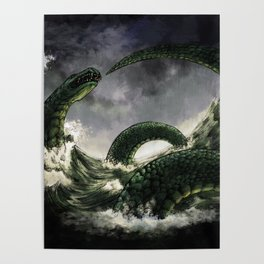 The Midgard Serpent Poster