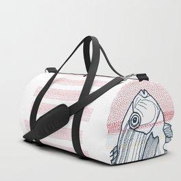 Stitches: Fish Duffle Bag