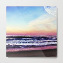 Unicorn Beach Metal Print