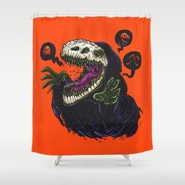 Grim Reapersaur Shower Curtain