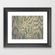 Painted Wood #2 Framed Art Print