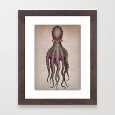 Gigantic Octopus Framed Art Print