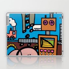 the TRAIN has LEFT THE STATION Laptop & iPad Skin