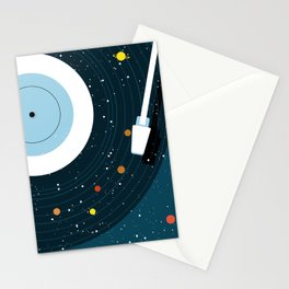 Space Vinyl Stationery Cards