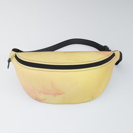 Modern Bright Yellow Abstract Art Fanny Pack