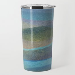 abstract marine composition Travel Mug