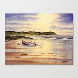 Mull Of Kintyre Scotland Canvas Print