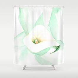 Calla I Shower Curtain
