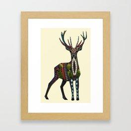 deer vanilla Framed Art Print
