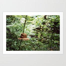 Lost Hat Art Print