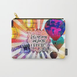 Join the Circus Carry-All Pouch