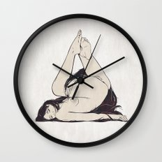 My Simple Figures: The Triangle Wall Clock