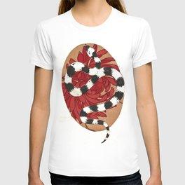 Kingsnake floral  T-shirt