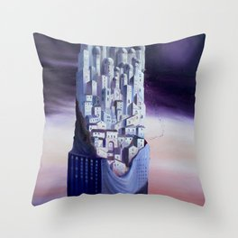 The Horizon of the Events Throw Pillow