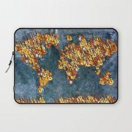 World Music Grunge Laptop Sleeve