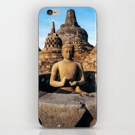 Borobudur temple iPhone Skin