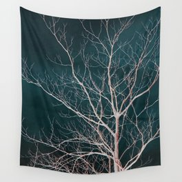 Winter Tree Wall Tapestry