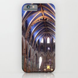 St. Patrick's Basilica cathedral - Ottawa - gothic architecture iPhone Case