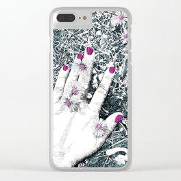 Delicado Clear iPhone Case