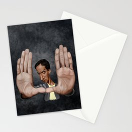 Framed by Abed Stationery Cards