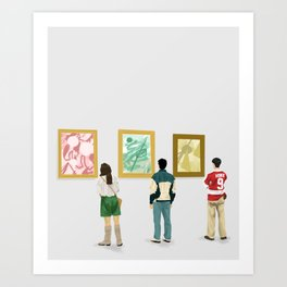 Ferris Bueller at the Art Museum Art Print