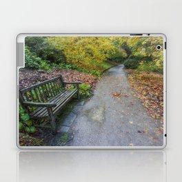 Fall Walks Laptop & iPad Skin
