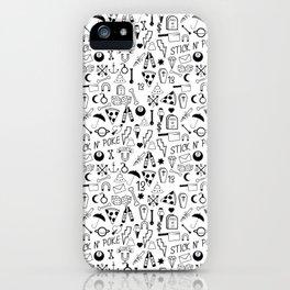 Stick and Poke Tattoo iPhone Case