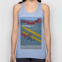 Wilbur and Orville Wright, 1903 (c) Unisex Tank Top