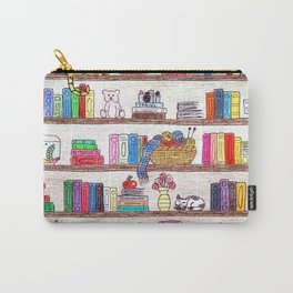 Colored booshelf! Carry-All Pouch