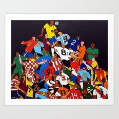 BRASIL X ALL Art Print