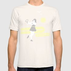 Tennis Natural SMALL Mens Fitted Tee