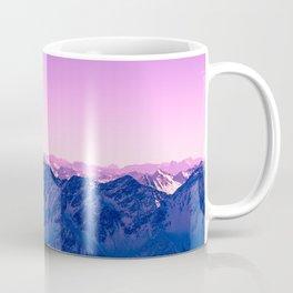 Pink Mountains #society6 #photography Coffee Mug