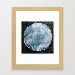 Full Hunter's Moon Framed Art Print