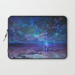 Ocean, Stars, Sky, and You Laptop Sleeve