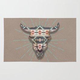 Cow Skull Induco Rug