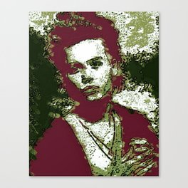 JOHNNY DEPP BY Cd KIRVEN Canvas Print