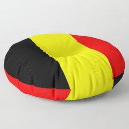 Drapeau Belgique Floor Pillow