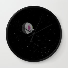 Another Man in the Moon Wall Clock